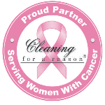 Cleaning for a Reason Logo | Alexandria Domestic Services is a proud partner of Cleaning for a Reason